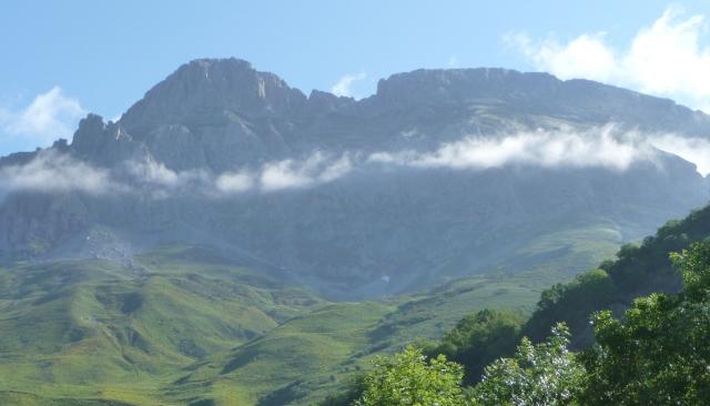 Picos de Europa at St Marina de Valdeon morning