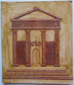 Collograph printing plate